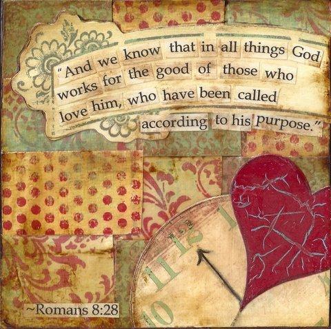according to his purpose