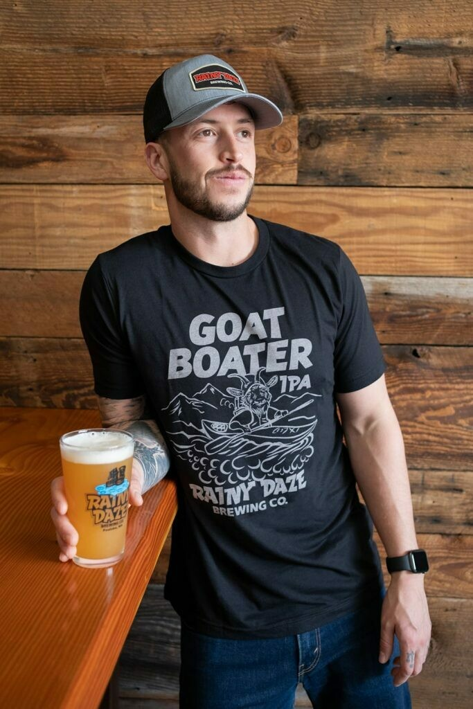 Shirt: Goat Boater