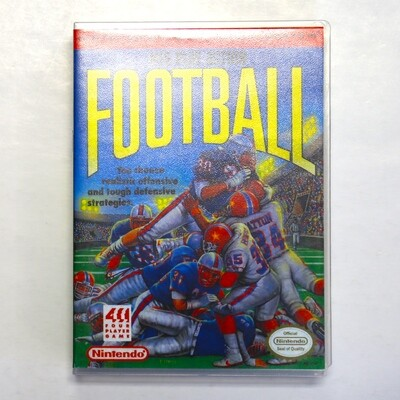NES Play Action Football w/Custom Case