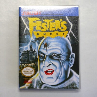 Fester's Quest w/Custom Case
