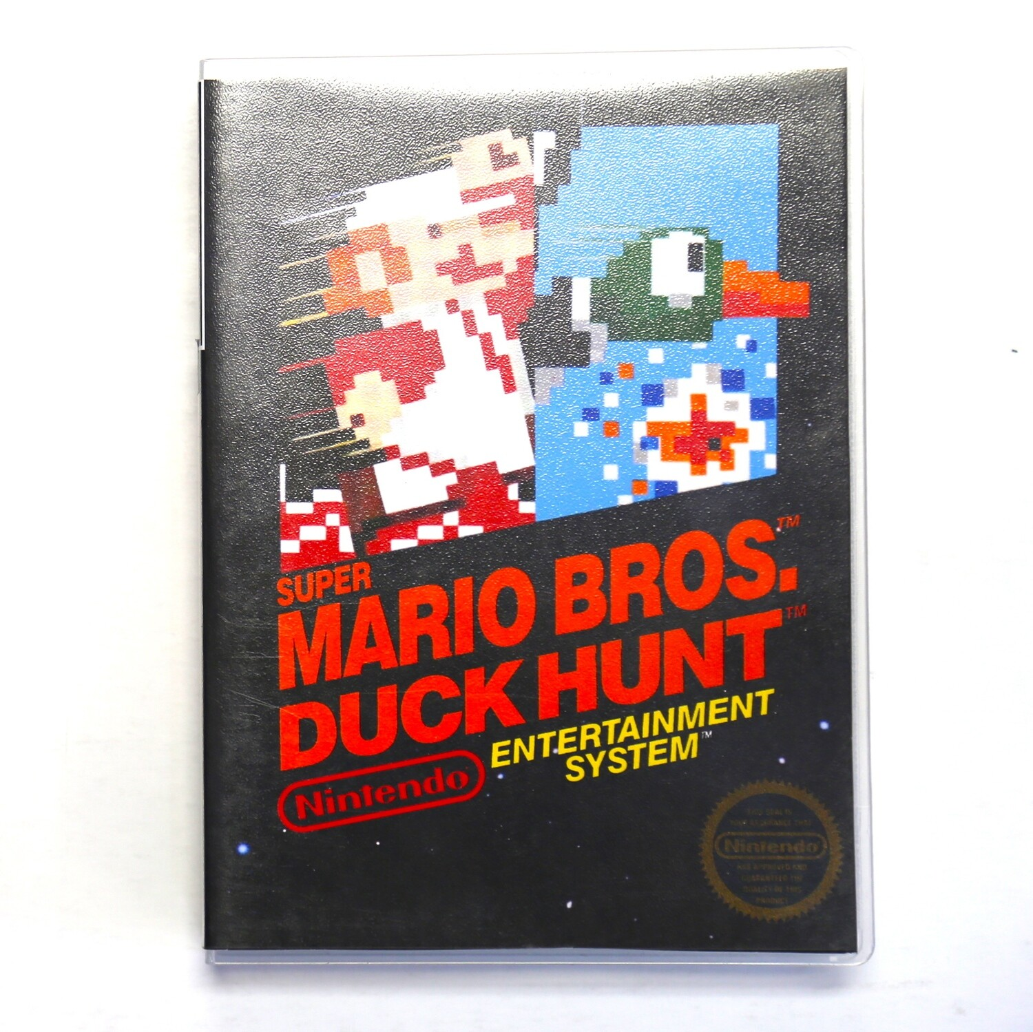 Super Mario Bros. / Duck Hunt w/Custom Case