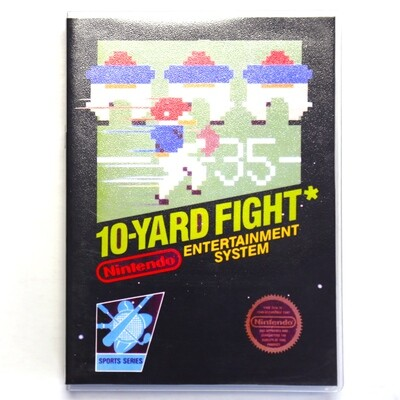10 Yard Fight w/Custom Case