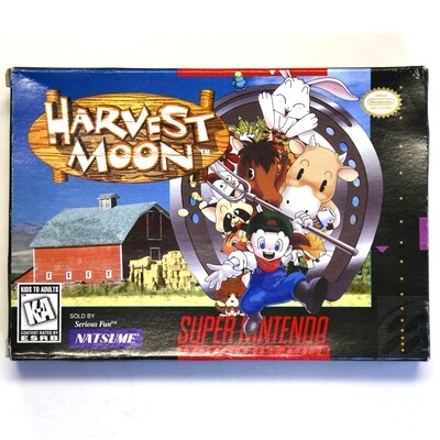 Harvest Moon BOXED