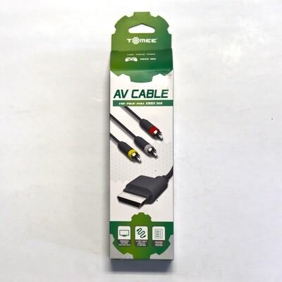 Xbox 360 AV Cable NEW