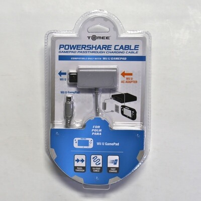 Powershare Cable for Wii U and Gamepad