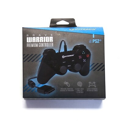 PS2 Controller NEW Brave Warrior
