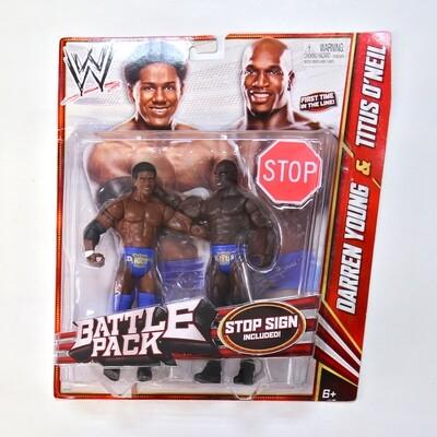 WWE Battle Pack Darren Young & Titus O'Neil