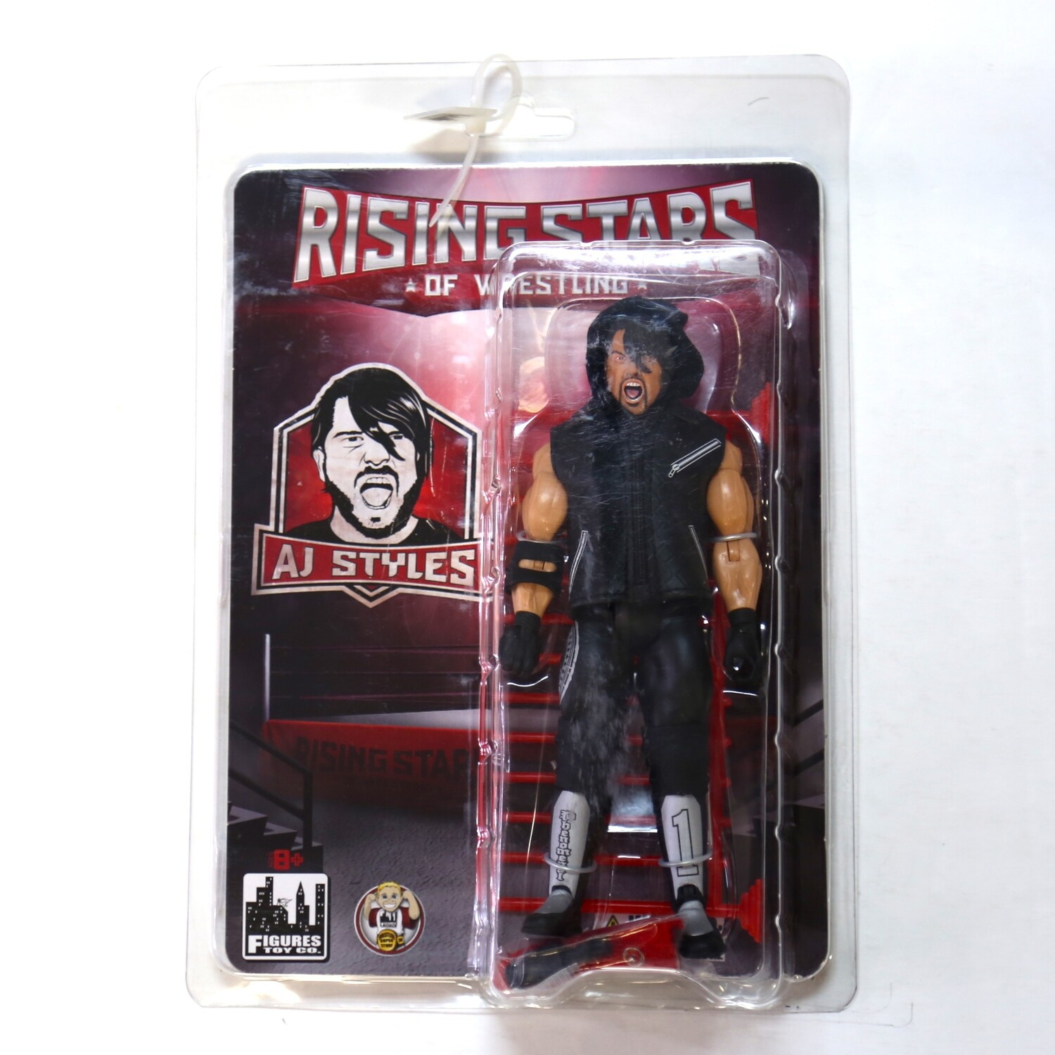 Rising Stars of Wrestling A.J. Styles (Silver)