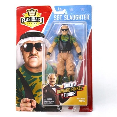 WWE Flashback Series SGT. Slaughter