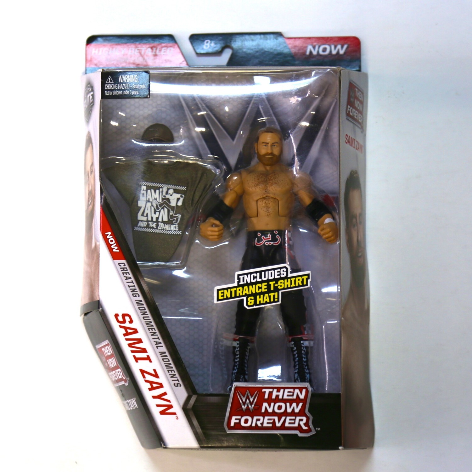 WWE Elite Collection Now Then Forever Sami Zayn