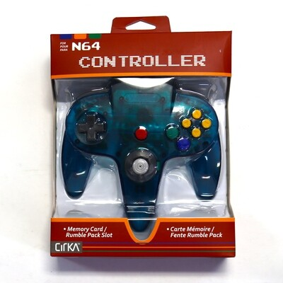 N64 Controller Turquoise NEW