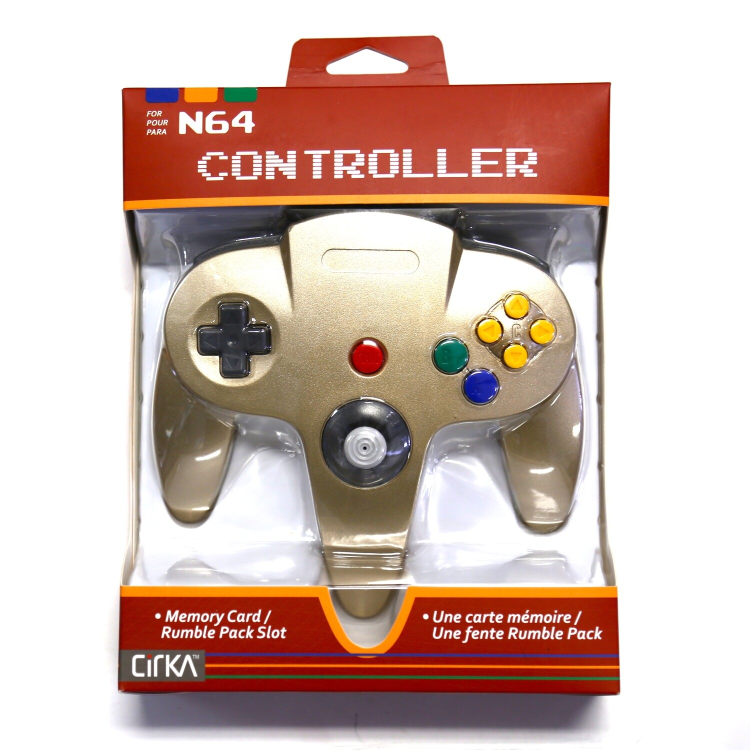 N64 Controller Gold NEW