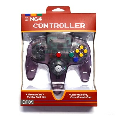 N64 Controller Atomic Purple NEW