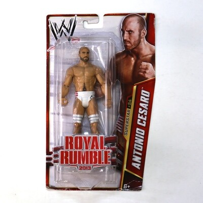 WWE Superstar #54 Antonio Cesaro Royal Rumble 2013