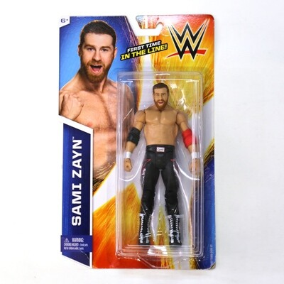 WWE Figure Sami Zayn (First Time in the Line)