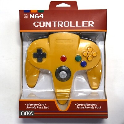 N64 Controller Yellow NEW