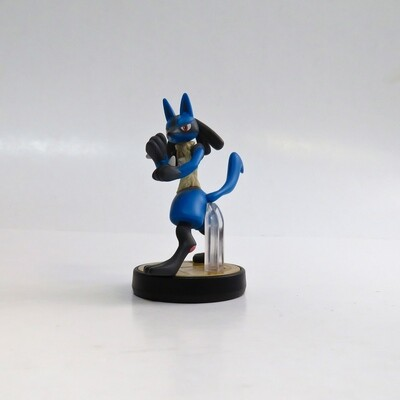 Amiibo Lucario Super Smash Bros. USED