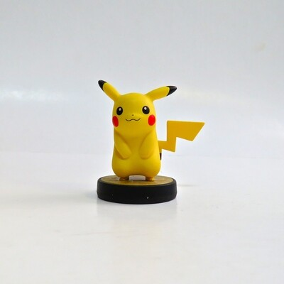 Amiibo Pikachu Super Smash Bros USED