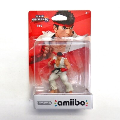 Amiibo Ryu Super Smash Bros NEW