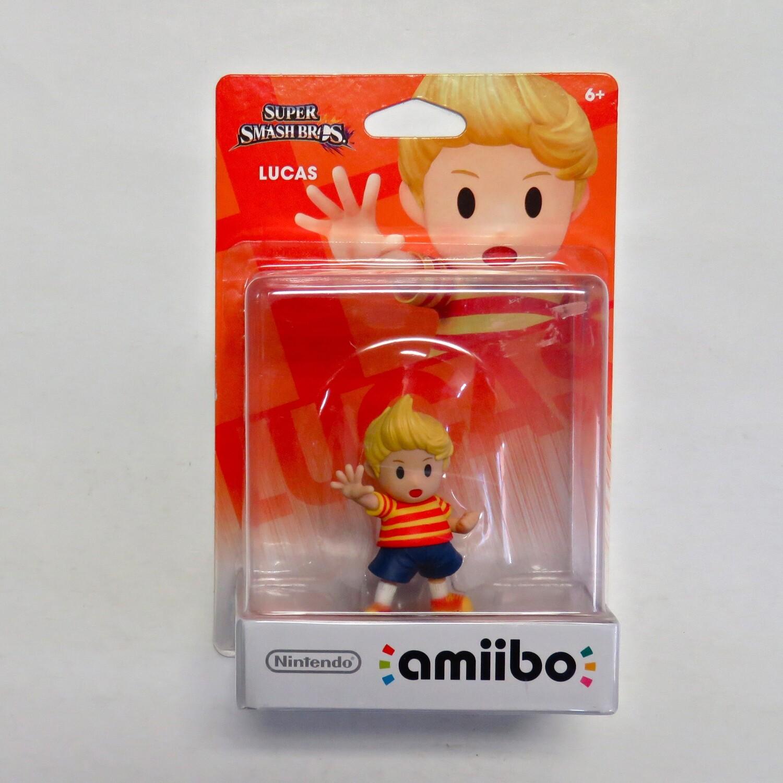 Amiibo Lucas Super Smash Bros NEW