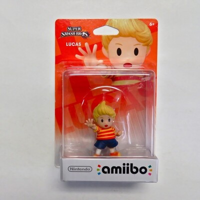Amiibo Lucas Super Smash Bros NEW
