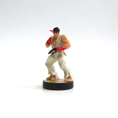 Amiibo Ryu Super Smash Bros. USED