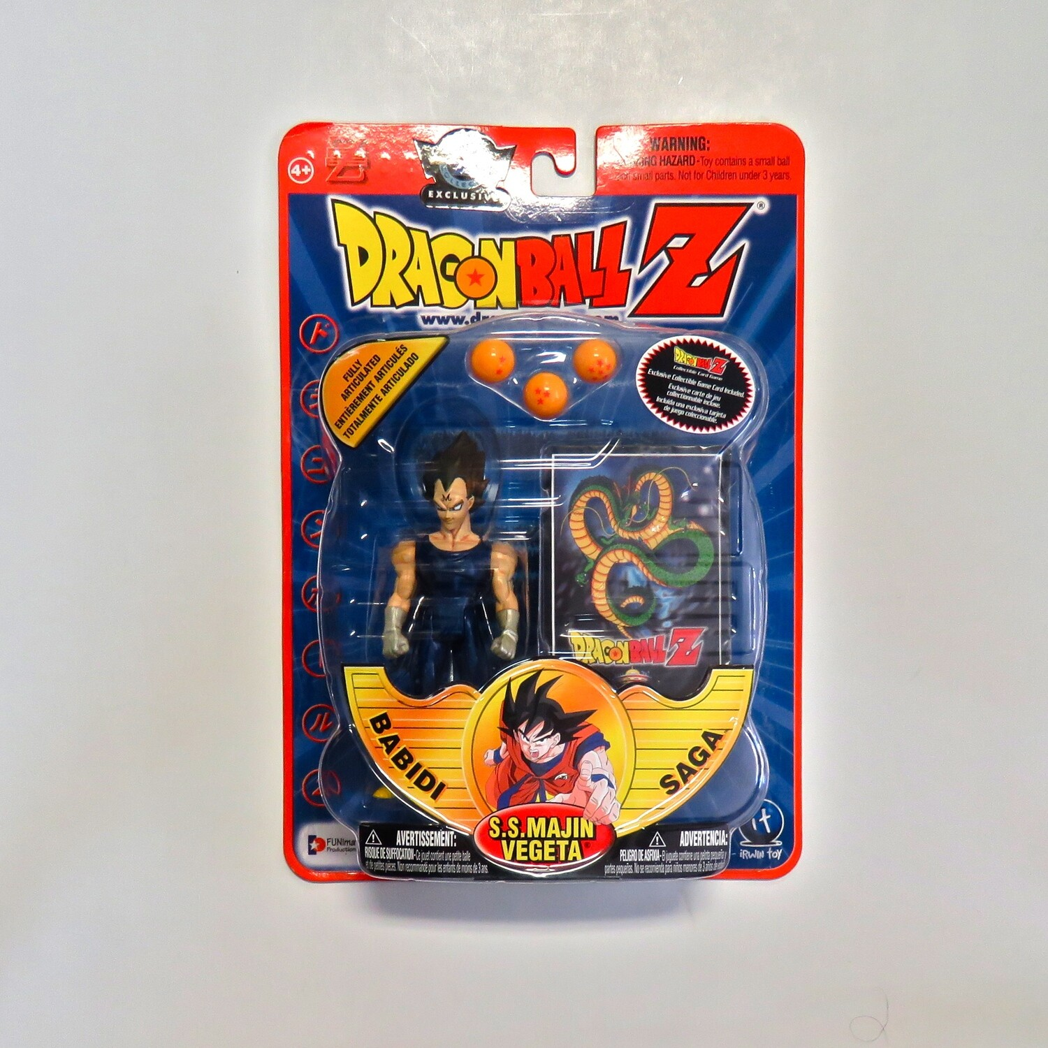 Dragon Ball Z S.S. Majin Vegeta Babidi Saga Figure