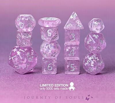 Empress Violaceus 14pc Limited Edition Dice