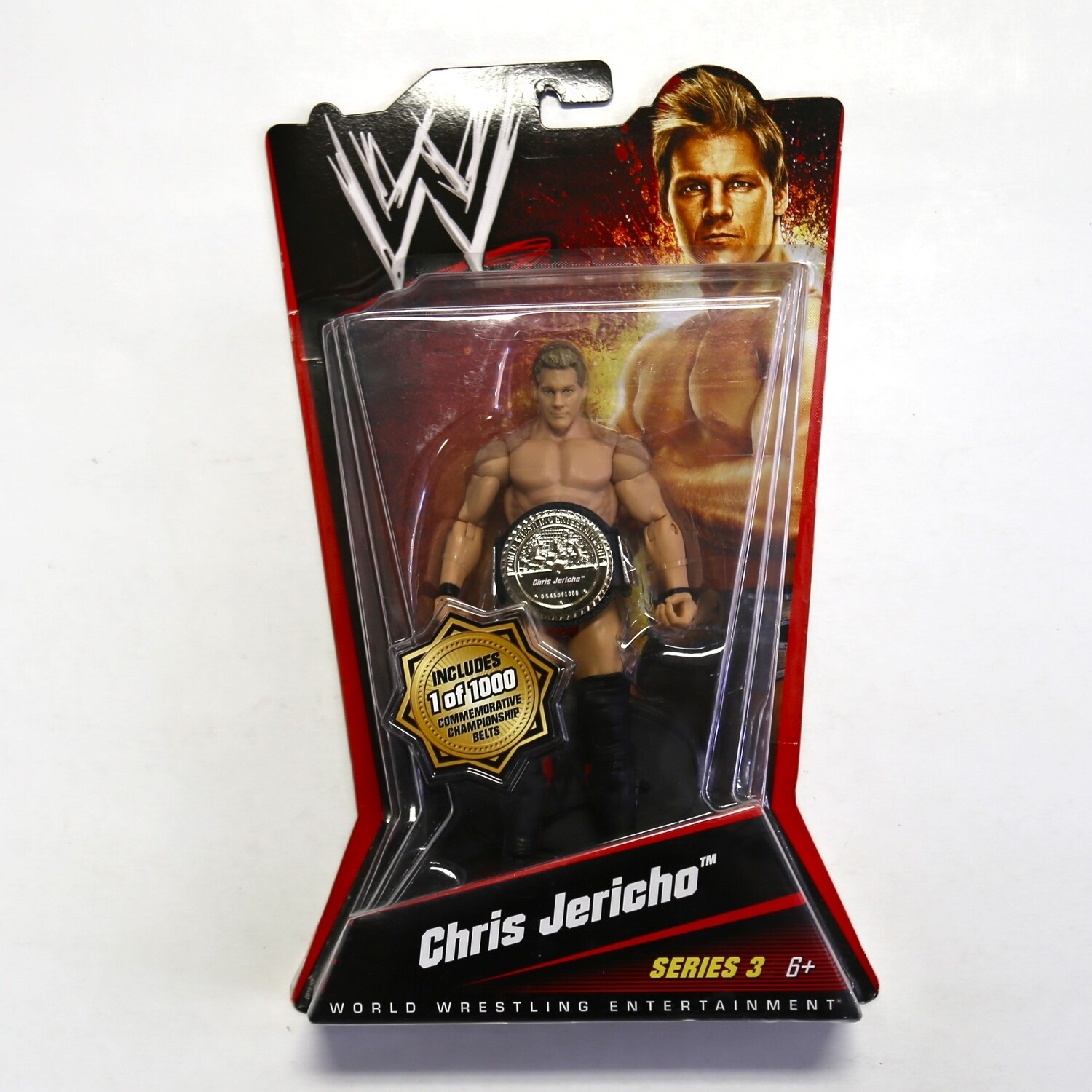 WWE Series 3 Chris Jericho with Commemorative Championship Belt
