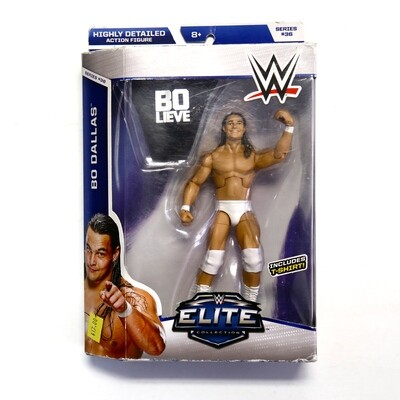 WWE Elite Series 36 Bo Dallas Figure