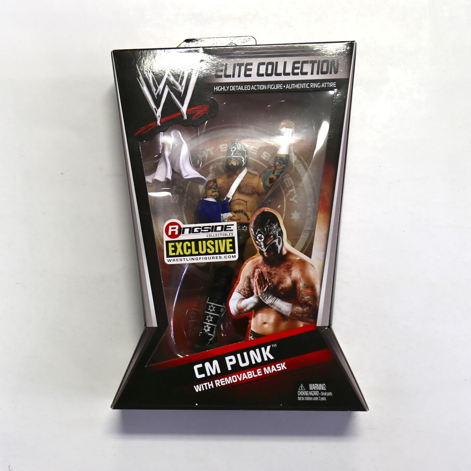 WWE Elite Collection CM Punk Ringside Collectibles Exclusive Figure