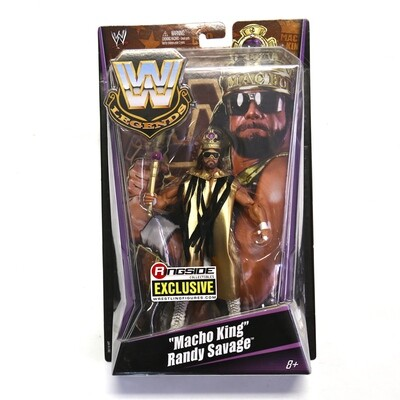 Macho King Randy Savage Ringside Collectibles Exclusive Figure