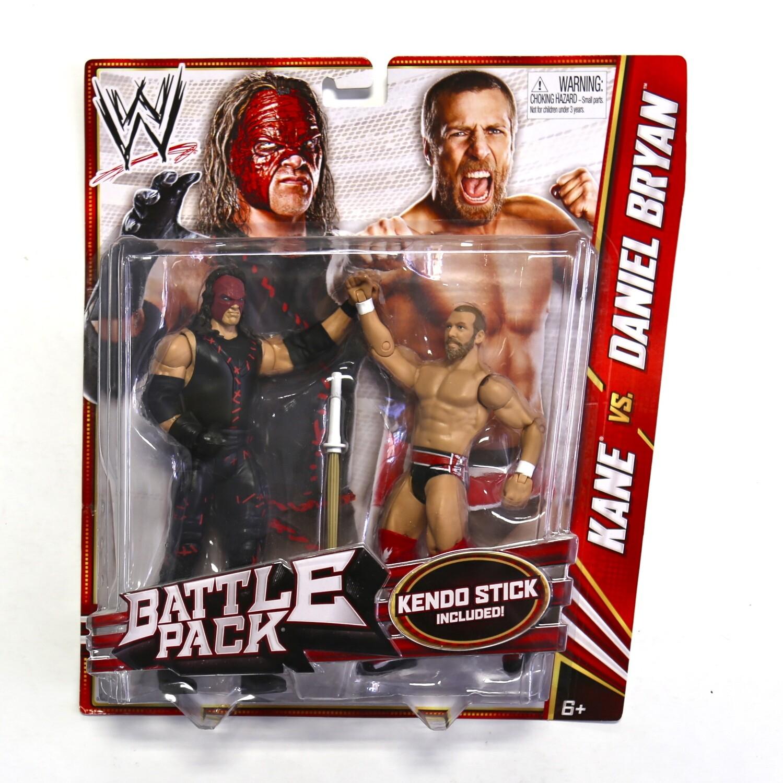 WWE Battle Pack Kane vs. Daniel Bryan Figures