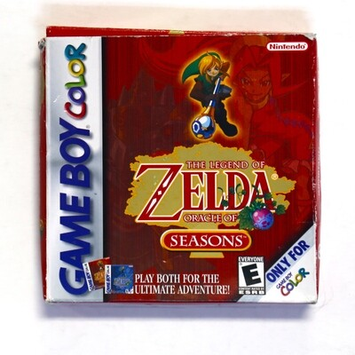 Legend of Zelda Oracle of Seasons