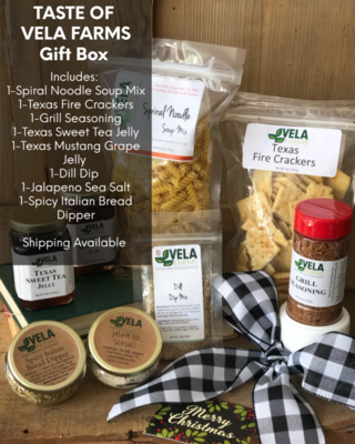 The Taste of Vela Farms Gift Box