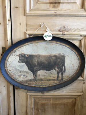 Aged Brown Cow Tray