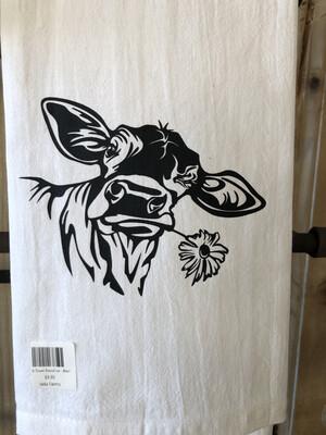 Dish Towel-DaisyCow
