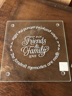 Glass Trivet-FriendsFamily