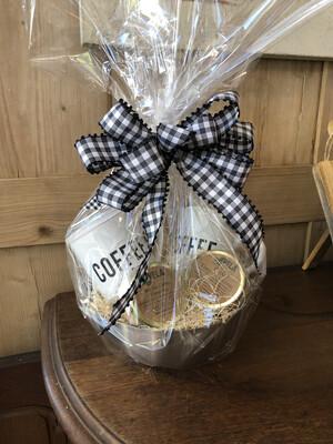 Coffee Mug Gift Basket