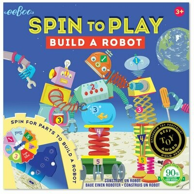 EB Build A Robot Spinner Puzzle Game