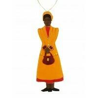 STN Rosa Parks Felt Ornament