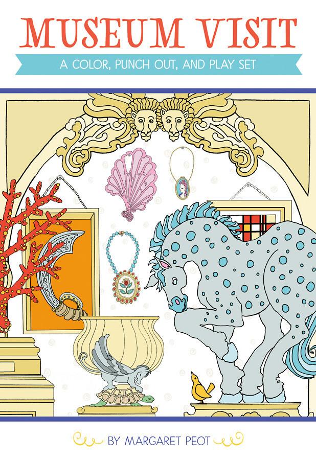 PO Museum Color Book