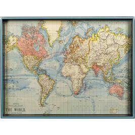 RF World Map Tray
