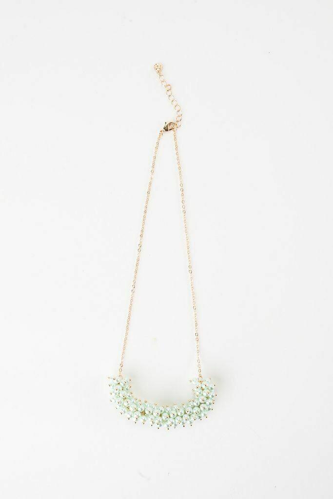"""VB Tallulah 18"""" Necklace Mint"""