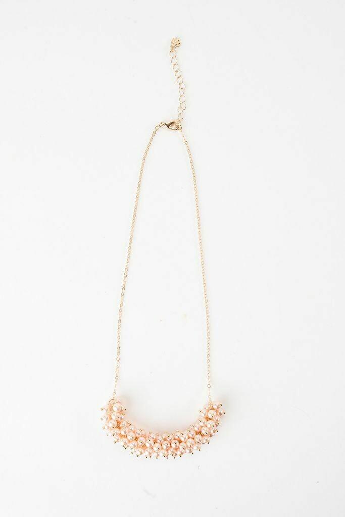 """VB Tallulah 18"""" Necklace Blush"""