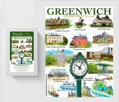 LIZ Town of Greenwich Puzzle
