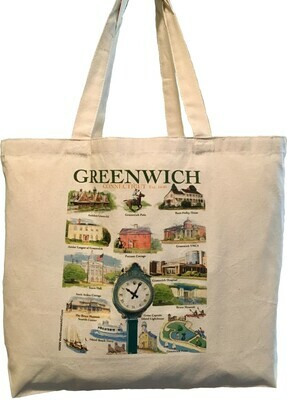 LIZ Town of Greenwich Tote Bag