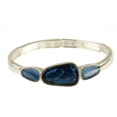 OR Aluminized Paper Shell Resin Bracelet