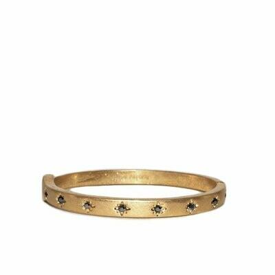 MSJ Bangle Bracelet Starburst