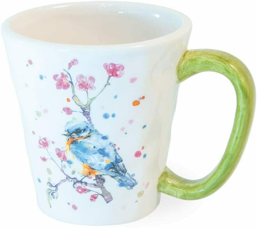 BI Bird & Cherry Blossoms Mug
